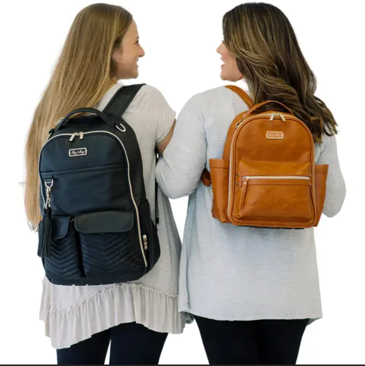 Itzy Mini Backpack Cognac - Elegant Mommy