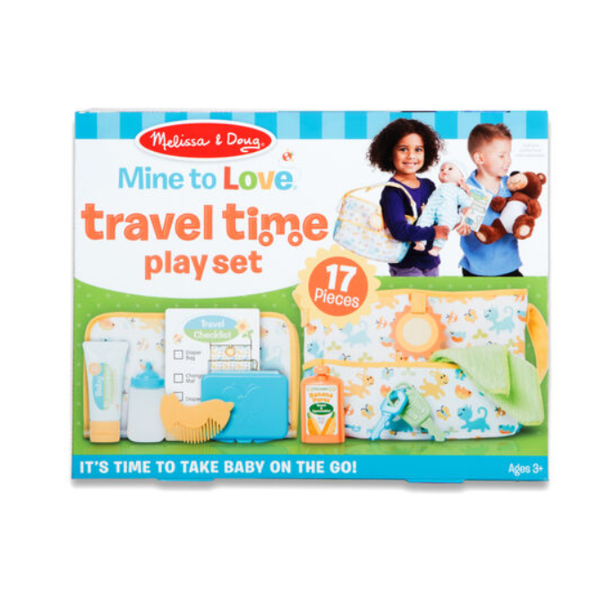 Mine to Love Travel Time Play Set - Elegant Mommy