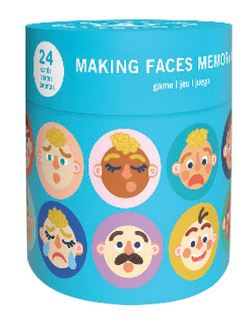 Making Faces Memory Game - Elegant Mommy
