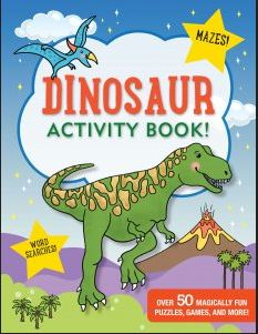 Dinosaur Activity Book! - Elegant Mommy