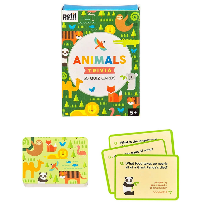 Animal Trivia Cards - Elegant Mommy