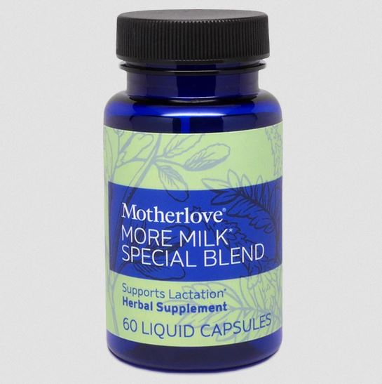 Motherlove More Milk Special Blend 60 caps - Elegant Mommy