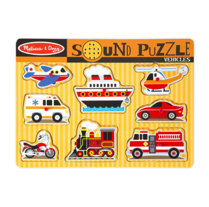 Melissa & Doug Puzzle Sounds - Elegant Mommy