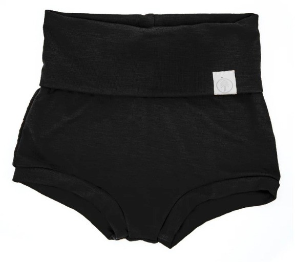 Bamboo Bloomers - Black - Elegant Mommy