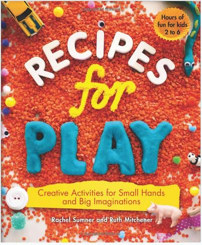 Recipes For Play Book - Elegant Mommy