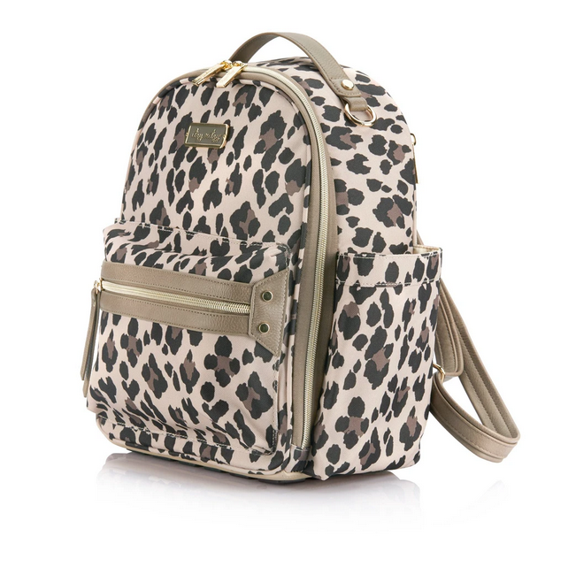 Itzy Mini Backpack Leopard - Elegant Mommy