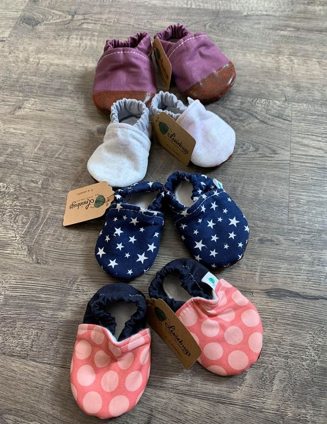 Lexiebugs Soft Sole Shoes - Elegant Mommy