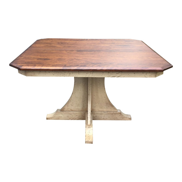 santa fe 48 inch rustic distressed table