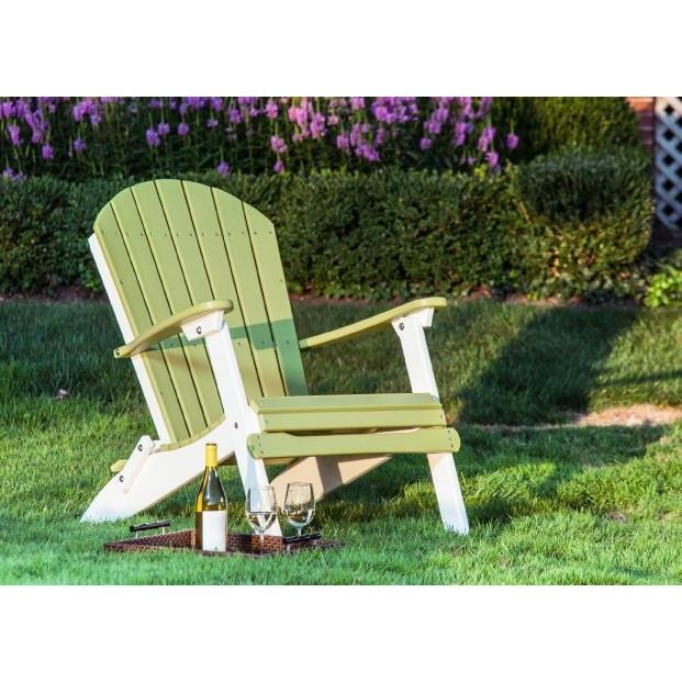 Folding Adirondack Chair-Outdoor-The Amish House