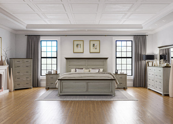 Amish Hickory Grove Bed