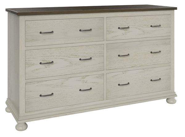 Amish Hickory Grove Dresser