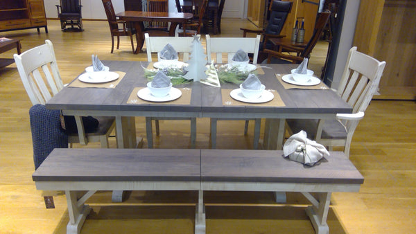 Amish Wakefield Trestle Table