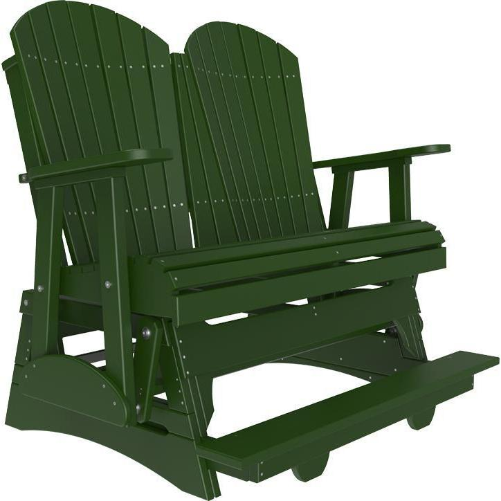 4' Adirondack Balcony Glider Green-The Amish House