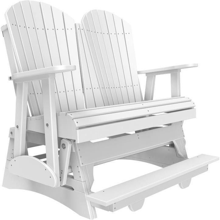 4' Adirondack Balcony Glider White-The Amish House