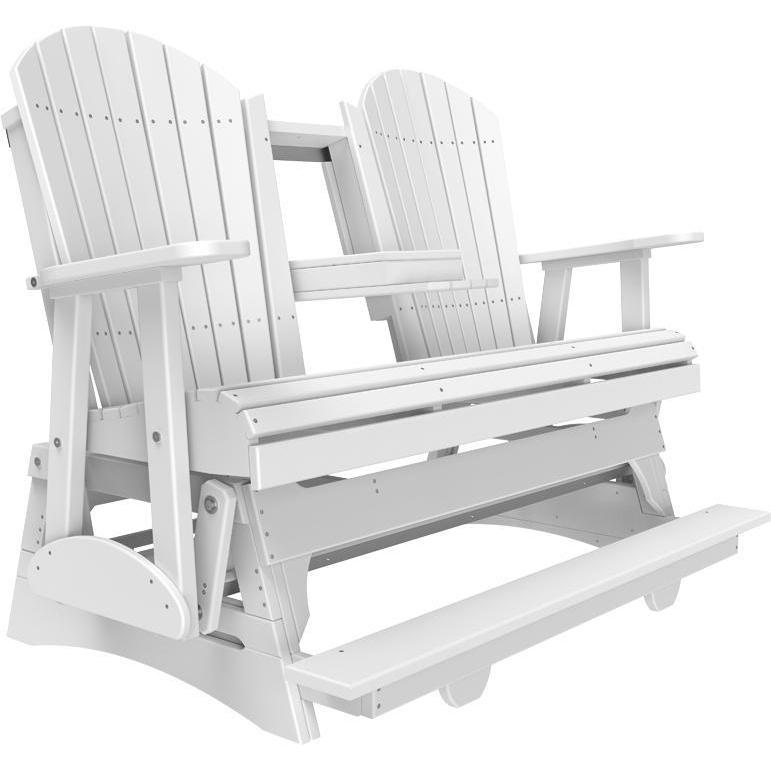 5' Adirondack Balcony Glider White-The Amish House