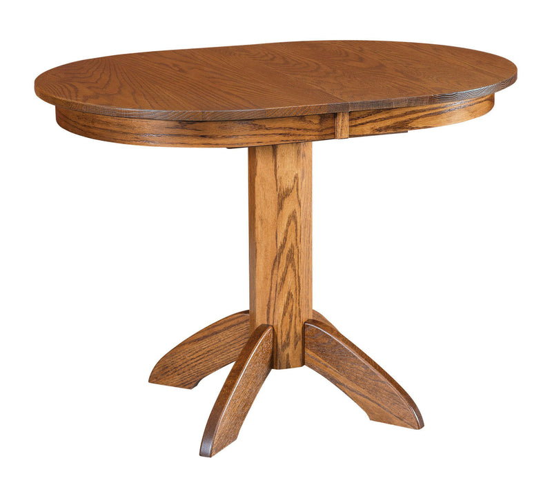 Advance Single Pedestal Dining Table-The Amish House