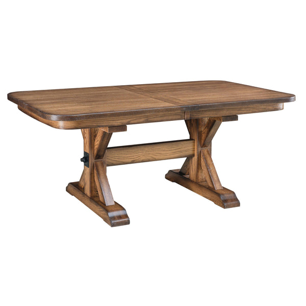 Amish Alberta Trestle Table-The Amish House