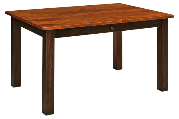 Asheville Leg Table-The Amish House