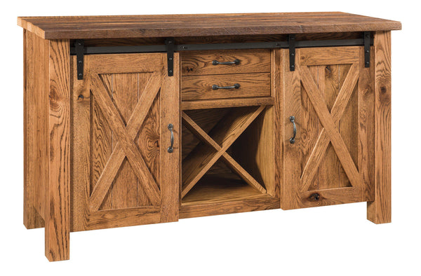 Barnloft Buffet-The Amish House