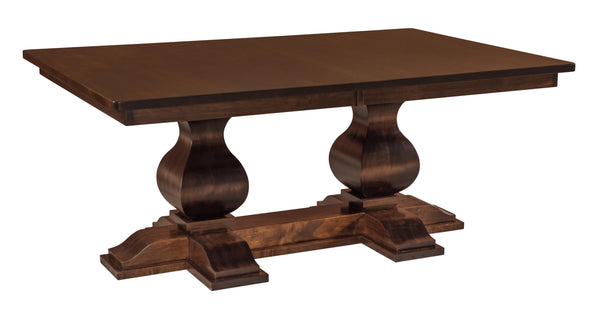 Barrington Double Pedestal Dining Table-The Amish House