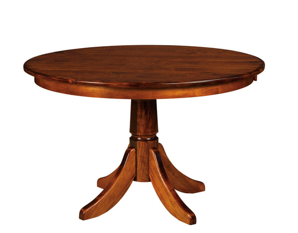 Baytown Single Pedestal Dining Table-The Amish House