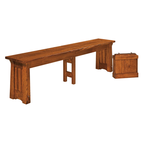 Beaumont Extend-A-Bench-The Amish House