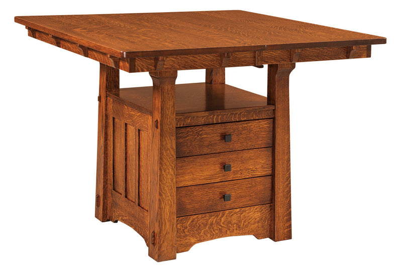 Beaumont Cabinet Dining Table-The Amish House