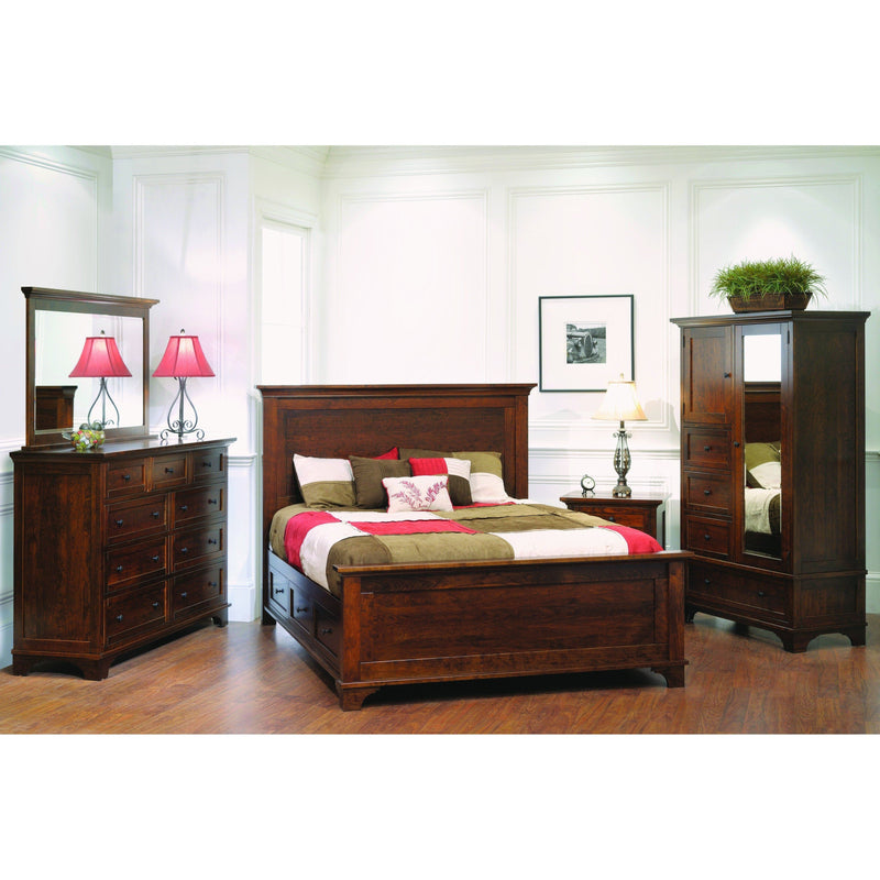 Arlington Three Drawer Nightstand-Bedroom-The Amish House