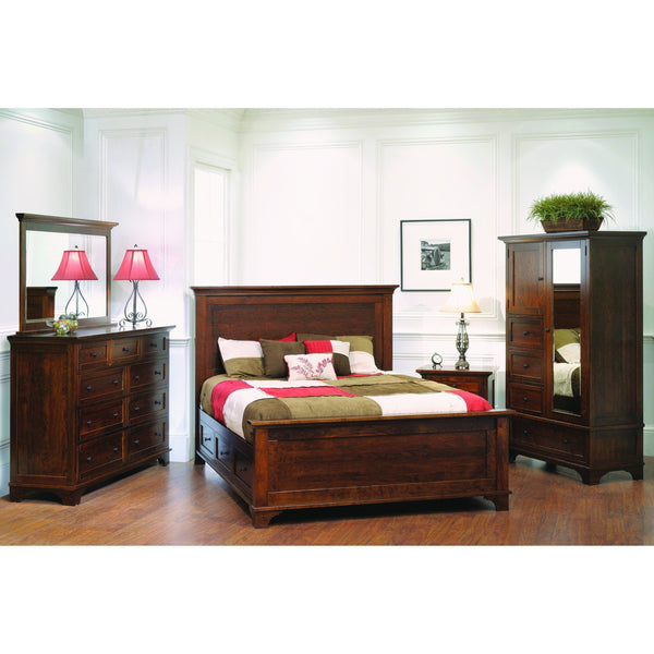 Arlington One Drawer Nightstand-Bedroom-The Amish House
