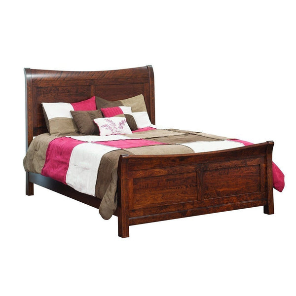 Arlington Sleigh Bed-Bedroom-The Amish House