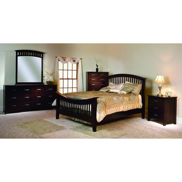 Cambrai Mission Nightstand-Bedroom-The Amish House