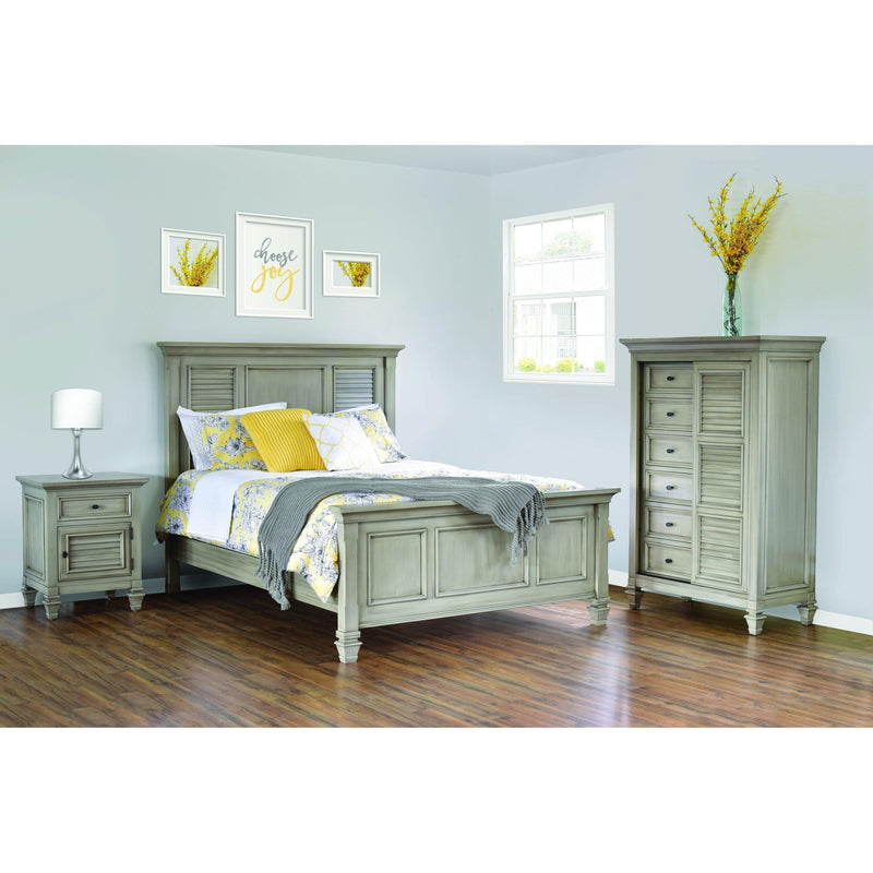 Legacy Village Nightstand-Bedroom-The Amish House