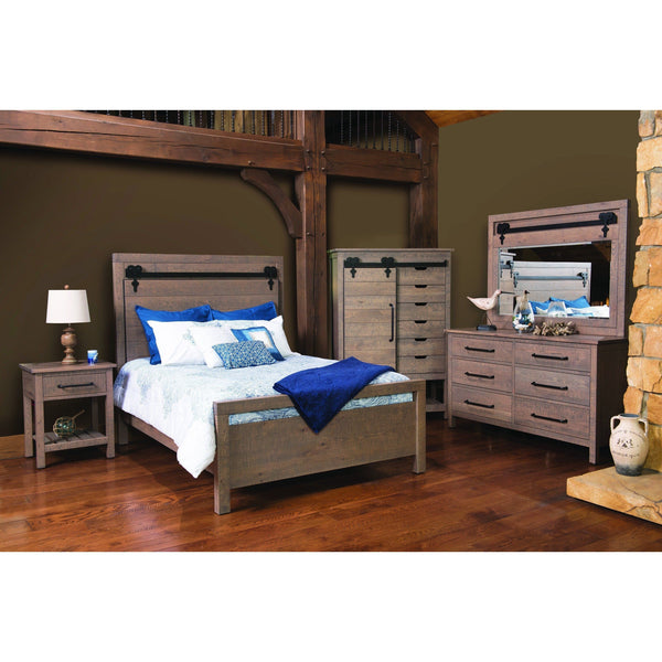 Liberty Nightstand-Bedroom-The Amish House