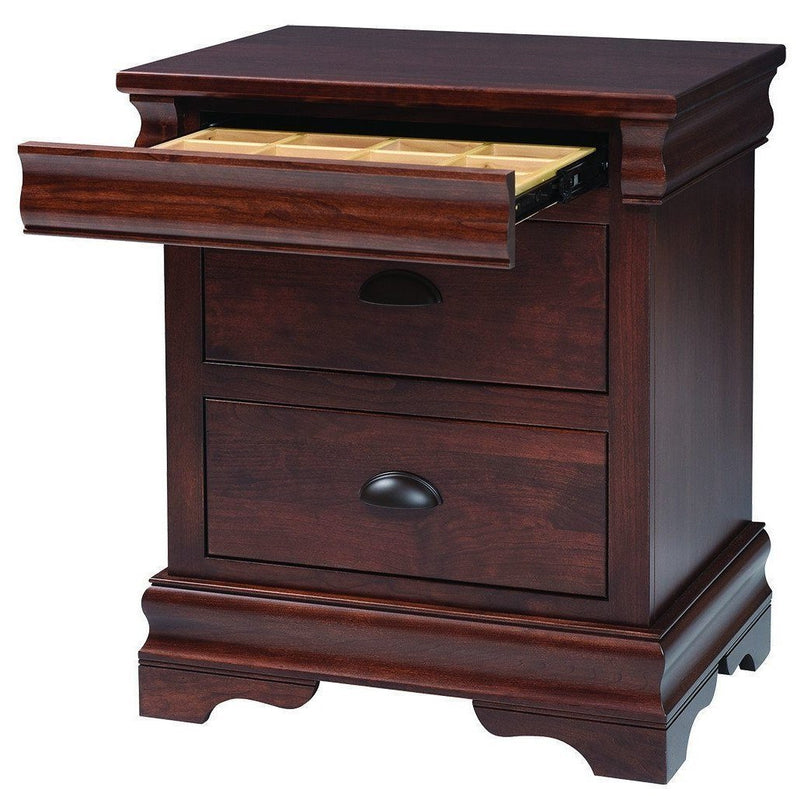 Luxembourg Nightstand-Bedroom-The Amish House