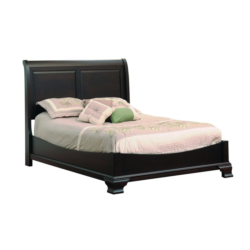 Walton Hills Sleigh Bed-Bedroom-The Amish House