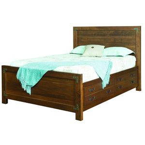 Williamsport Storage Bed-Bedroom-The Amish House