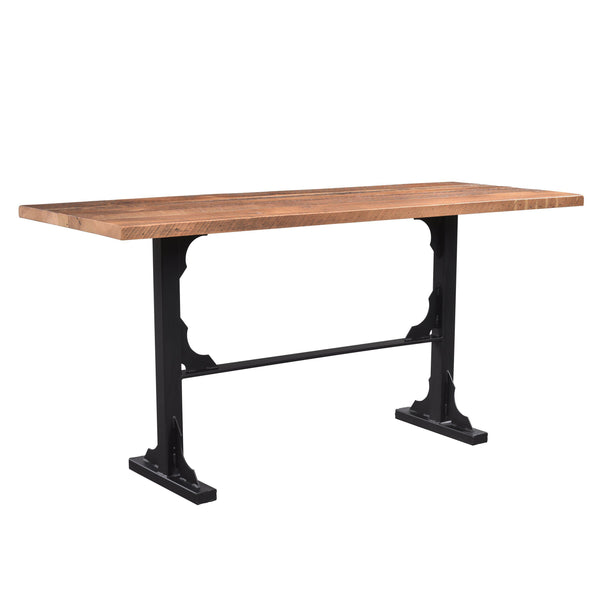 Amish Bridgeport Bar Table-The Amish House