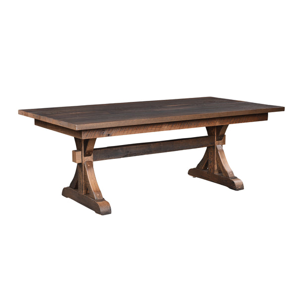 Amish Bristol Trestle Table-The Amish House