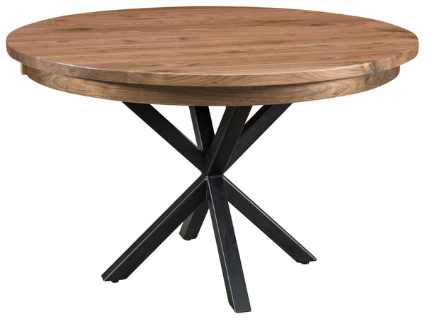 Brooklyn-single-Pedestal Table-The Amish House
