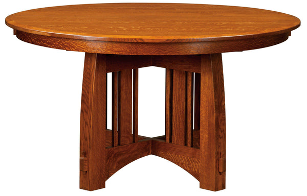 Brookville-Single Pedestal-Table-The Amish House