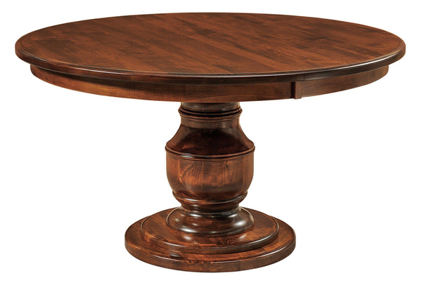 Burlington-Single-Pedestal- Table-The Amish House