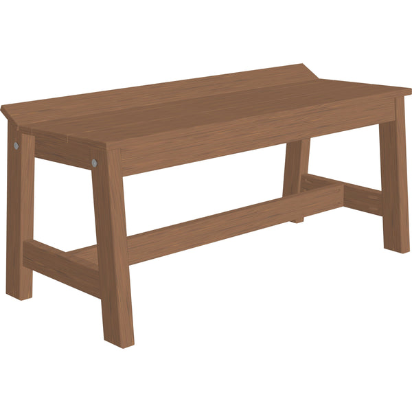 Amish Cafe Dining Bench 41""