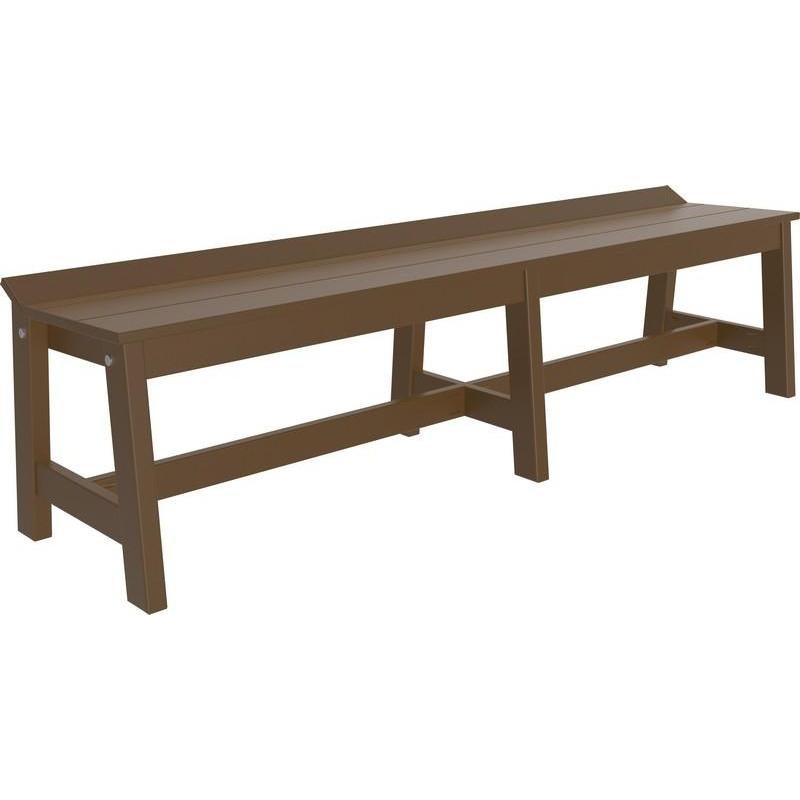 Amish Cafe Dining Bench 72""