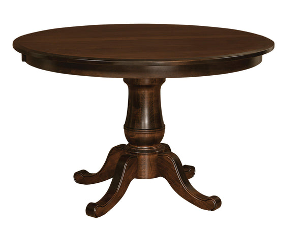 Chancellor-Single-Pedestal- Table-The Amish House