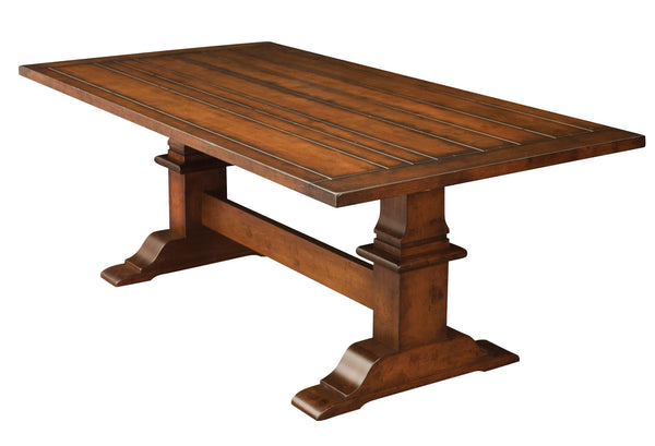 Chesterton Trestle Table-The Amish House