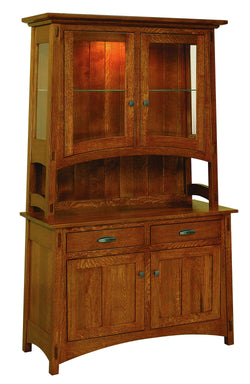 Collbran Two Door Hutch-The Amish House