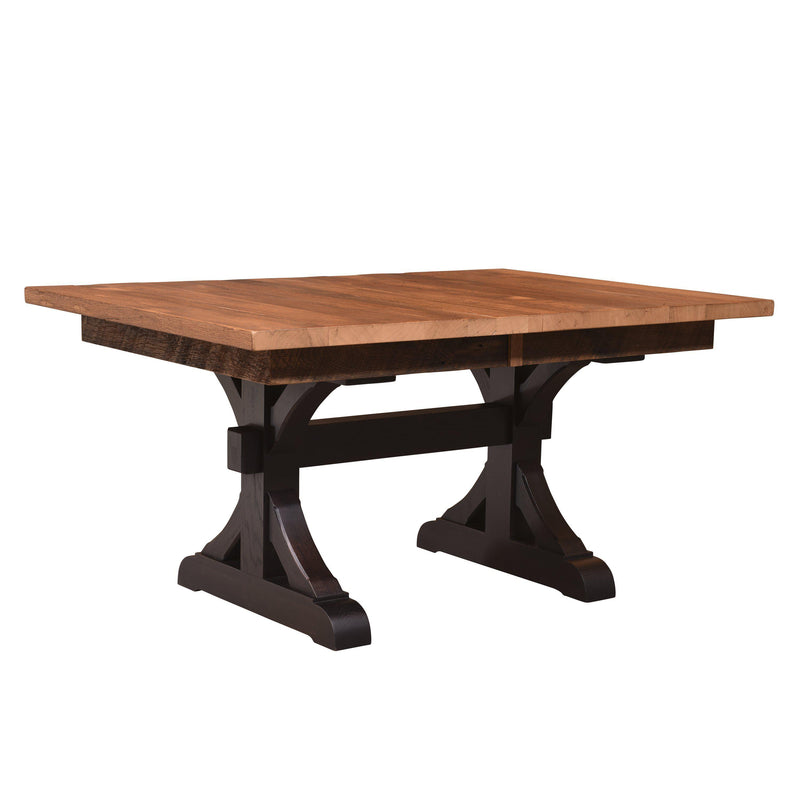 Amish Croft Trestle Table-The Amish House