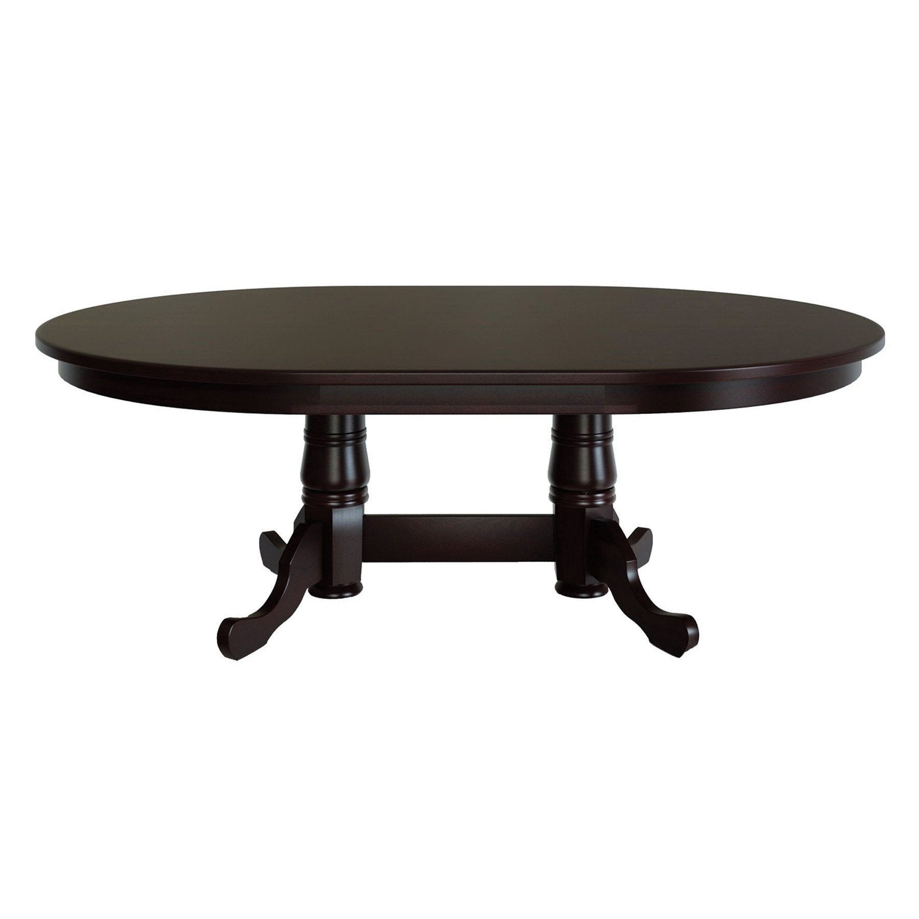 tables double pid richville table p dining pedestal amish