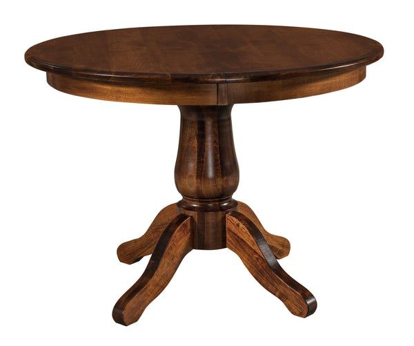 Easton-Single-Pedestal- Table-The Amish House