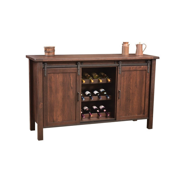 Farmhouse Buffet with Wine Cabinet